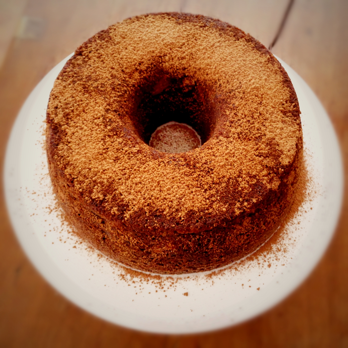 Bolo de maçã, noz e alfarroba / Apple, walnut and carob cake