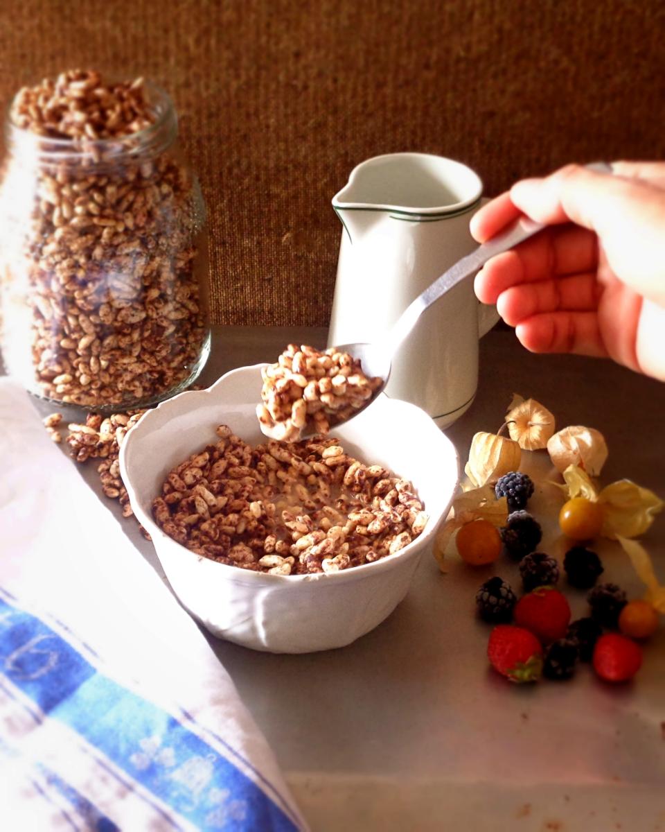Choco Crips caseiros e saudáveis / Healthy and homemade Choco Crisps