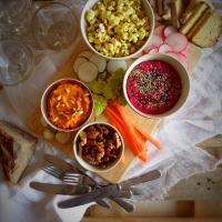 Petiscos para festas + especial Ano Novo! // Party food + New Year's special