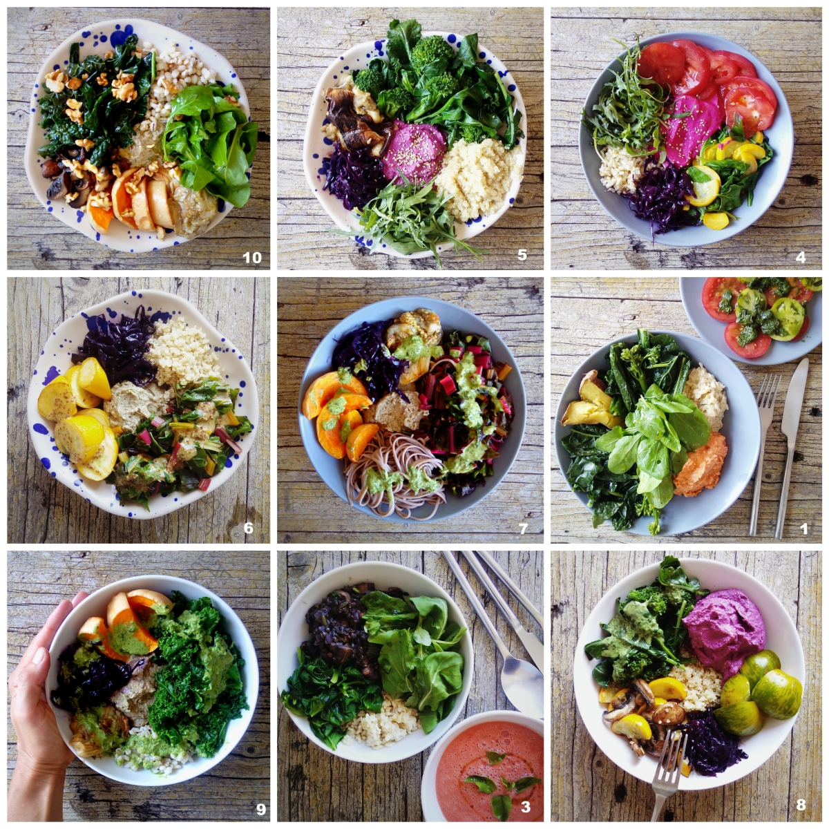 Tigela da abundância: dicas para refeições saudáveis, completas e práticas / Abundance bowls: tips for healthy, complete and easy meals